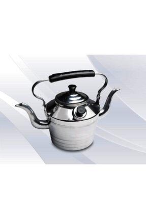 EARABUL Alüminyum Kamp Çaydanlığı - Süzgeçli Demlik - 2 Si 1 Arada Çift Taraflı Çaydanlık Seti 1