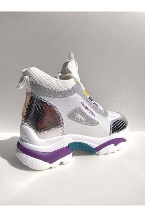 Guja Kadın Gümüş Spor Ayakkabı 3