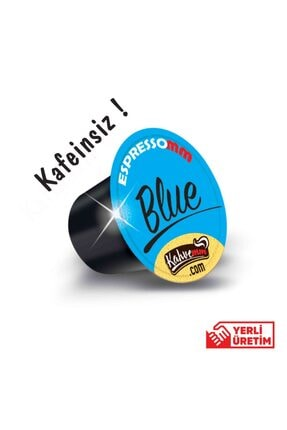 ESPRESSOMM Nespresso Uyumlu Blue Kapsül Kahve - Kafeinsiz! (50 ADET) 2