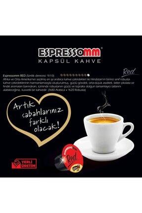 ESPRESSOMM Nespresso Uyumlu Red Kapsül Kahve (100 ADET) 4