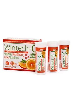 Phytodef Wintech C Beta Glukan Vitamin C  Çinko 30 Efervesan Tablet 0