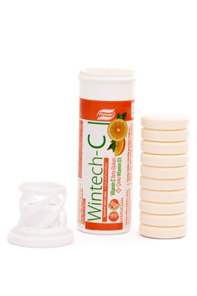 Phytodef Wintech C Beta Glukan Vitamin C  Çinko 30 Efervesan Tablet 3