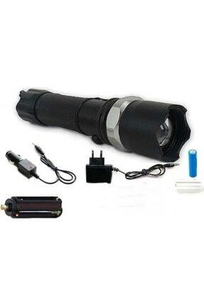 yopigo Km-110 Profesyonel Şarjlı El Feneri Ledli+flashlight+zoom Özellikli 6 Parça Full Set 1