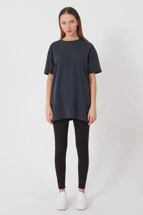 Addax Yazı Detaylı T-shirt P9519 - J5 3