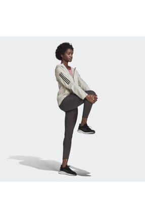 adidas Kadın Beyaz Kapüşonlu Rüzgarlık 2