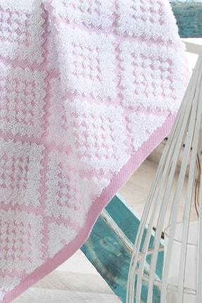 Riva 3d Carpet Jakarlı %100 Pamuk 4 Lü El Ve Yüz Havlu Seti 3