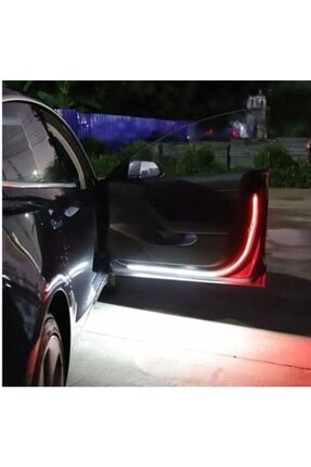 rennway Led Araba Işıkları Araba Kapı Açma Uyarı Işığı 2 Adet Kapı Ikaz Ledi 4
