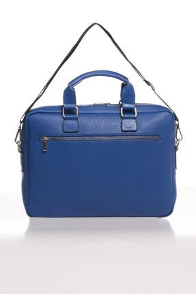 Sergio Giorgianni Luxury Mpist9141 Belinda Mavi Unısex Evrak Çantası 2