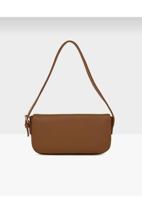 bag&more Kadın Taba Kapaklı Baget Çanta 0