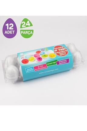 Circle Toys Şekilli Yumurtalar 12'li 1
