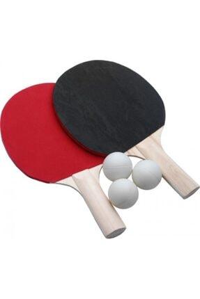 deniz sport Masa Tenisi Raket Seti ( 2 Raket Ve 3 Top Pinpon ) - Yeni 0