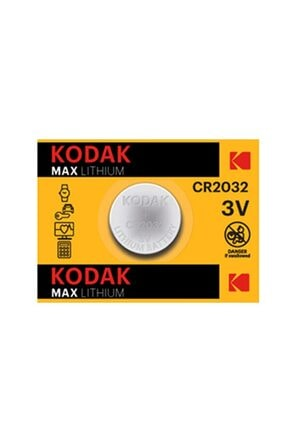 Kodak Cr2032 3 Volt Ultra Lityum Para Pil Pakette 5 Adet Bulunur 1