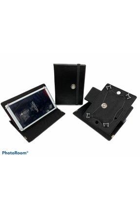 "Aksesuar Fırsatı Vorcom S12 10.1"" Dönebilen Standlı Tablet Kılıfı - Siyah 0"