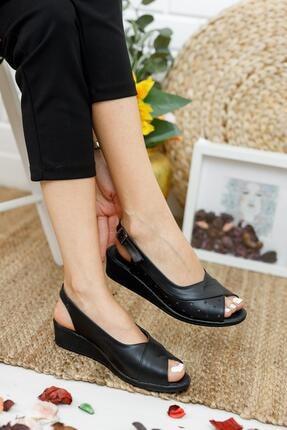 Muggo Ays72 Kadın Günlük Ortopedik Sandalet 3