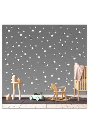 Sticker Sepetim Bebek Ve Çocuk Odası Yıldız Seti 3,4,5 Cm 100 Adet 0