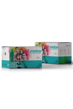 Sabomar Medizer Full Ultrasonik Cerrahi Ağız Maskesi 3 Katlı 50 Adet 2