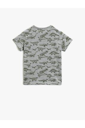 Koton Erkek Çocuk Koton T-shirt Gri 1
