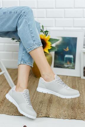 Muggo Svt03 Ortopedik & Terletmez Kadın Sneaker 3