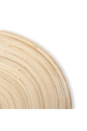 MİEN Bambu Dekoratif Tabak 2