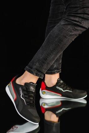 Muggo Erkek Siyah Sneaker Fr5263 4