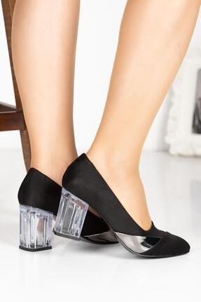 Klasik Topuklu Büyük Numara Ayakkabı 10118X