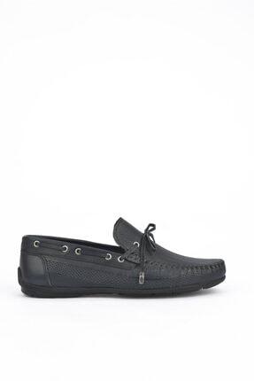 تصویر از , Erkek Hakiki Deri Ayakkabı 111415 396064 Lacıvert