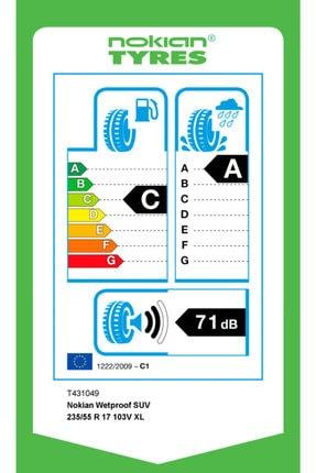 Nokian Wetproof Suv 235/55 R17 103v Xl Yaz Lastiği 2020 Üretimi 4