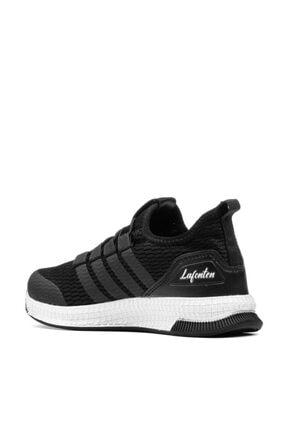 MAGIC SHOES Unisex Çocuk Siyah Beyaz Spor Ayakkabı 3