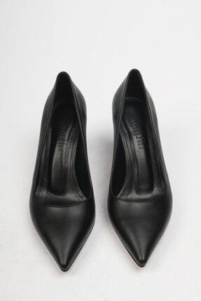Marjin Akuna Kadın Stiletto Topuklu Ayakkabısiyah 4
