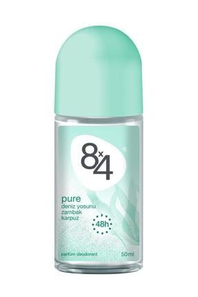 8x4 Pure Rolon Deodorant Kadın 50 ml 0