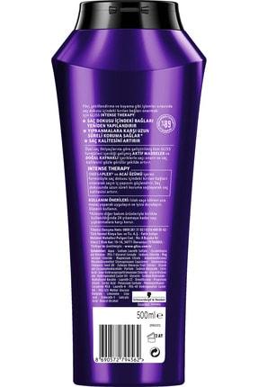 Gliss Intense Therapy Yeniden Yapılandırıcı Şampuan 500 ML 4'lü 3