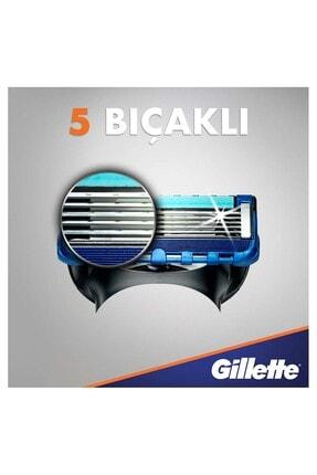 Gillette Fusion Proglide Yedek Tıraş Bıçağı 8'li - Karton Paket 4