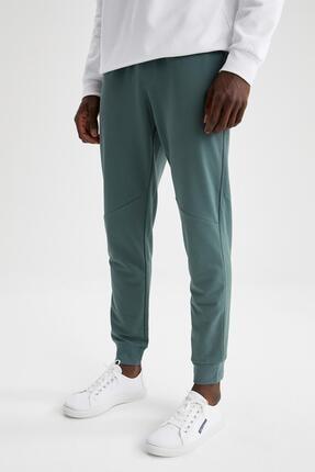 Defacto Erke Yeşil Slim Fit Jogger Eşofman Altı 1