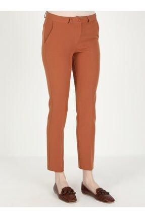 Loreen Kadın Kiremit Cep Detaylı Pantolon 3