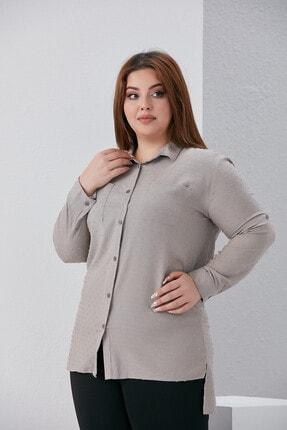 Kadın Büyük Beden Gömlek gömlek