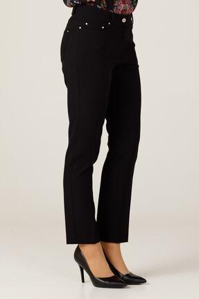Ekol Kadın Sıyah Boru Paça Pantolon 2026 3