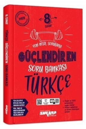 Ankara Yayınları 8.Sınıf Türkçe Güçlendiren Soru Bankası 0