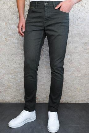 HLT JEANS Erkek Yeşil Slim Fit Pantolon Hltvalkhi 0