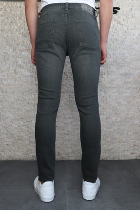 HLT JEANS Erkek Yeşil Slim Fit Pantolon Hltvalkhi 4