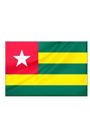 Parlak Kumaş Togo Ülke Bayrağı 50x75cm Togo 50x75cm