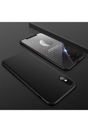 Apple Iphone Xs Max Kılıf 360 Derece Tam Koruma 3 Parça Ays Model 0