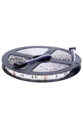 LED LAMP Şerit Led Rgb 10 Metre 44 Tuşlu Kumandalı 20 Renk Iç Mekan Tak Çalıştır Double Pcb 1