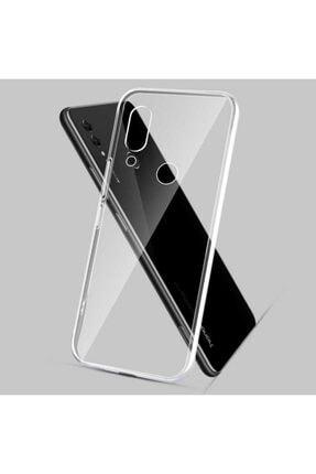 Huawei Honor 8x Kılıf Şeffaf Tam Koruma Esnek Süper Silikon Model 1