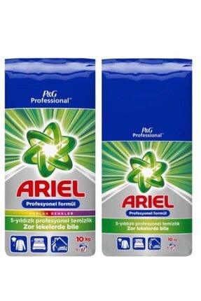 Ariel Profesyonel Formül 10 Kg Beyaz Için + 10kg Renkliler Için 0