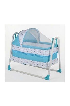 Tommybaby Yuvam Lüx Sepet Beşik Portatif Bebek Beşiği Sallanır Beşik 0