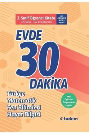 Tudem Yay 3.Sınıf Evde 30 Dakika Öğrenci Kitabı 0