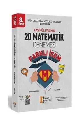 İsem Yayıncılık Lgs Matematik 20 Li Sarmal Deneme Farklı Isem 0