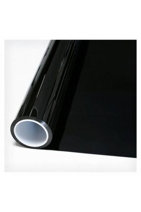 AUTOFOLYO Cam Filmi Siyah Çizilmez Koyu Ton-100 cm-3 Metre 0