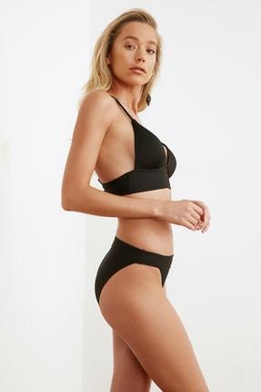 TRENDYOLMİLLA Siyah Dokulu Bikini Altı TBESS21BA0016 2