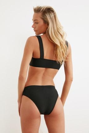 TRENDYOLMİLLA Siyah Dantelli File Detaylı Bikini Altı TBESS20BA0166 3